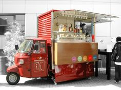 Piaggio APE TM food truck offer and gallery