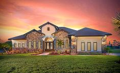 The La Caruna House Plan by Energy Smart Home Plans The perfect Tuscan home for indoor/outdoor living, and entertaining in grand style. Plenty of room for an outdoor kitchen or bar. Mediterranean House Plans, Mediterranean Home Decor, Mediterranean Architecture, Tuscan House Plans, Rustic Italian, Italian Home, Outdoor Kitchen Bars, Custom Home Designs, Custom Design