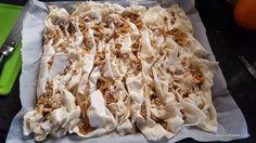 cum se face placinta creata cu mere si nuca de post reteta (1) Macaroni And Cheese, Bread, Ethnic Recipes, Desserts, Food, Home, Tailgate Desserts, Mac And Cheese, Deserts