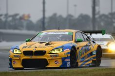 BMW M6 GTLM racing cars will start the 54th annual Rolex 24 At Daytona from the third and sixth positions in the GTLM field.