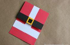 Handmade Christmas Card - Hoosier Homemade