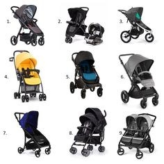 Some great strollers we're looking forward to in 2016. via BabyCenter