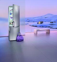 Perfectly temperatured with a #Siemens #fridge and #freezer combination. // Perfekt gekühlt und gefroren. #refrigerator #Kuehlschrank #enjoysiemens #kitchen