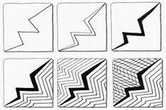 Zentangle Patterns Step by Step   Zentangle - Zendoodle Patterns   Zentangles   Pinterest ...