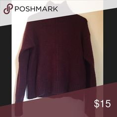 Very Comfy Burgundy Turtleneck Very comfy burgundy turtleneck. Product of Forever21. Contemporary collection winter 2015. Size Large. Original prize $29.99 Forever 21 Sweaters Cowl & Turtlenecks