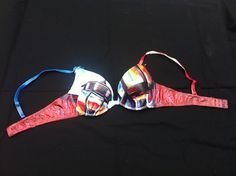 Painted bra in support of Cancer Ward In #Medicine Hat, Alberta, Canada