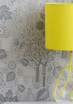 Autumn Wallpaper - Soft Grey