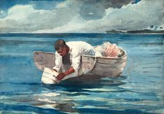 WINSLOW HOMER (1836-1910) The Water Fan (1899)  The Art Insitute of Chicago
