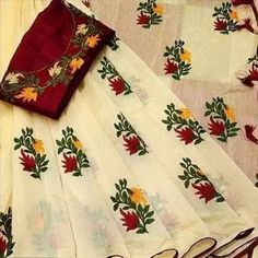 join whats app group for latest update & discounts link in bio Floral Embroidered Chanderi Cotton Sarees link in bio Price: ₹399 Feel free to call us on +91-7999219541 if you need any help with ordering online. Thank you #chanderi #chanderisilk #saree #sareelove #handloom #cotton #silk #kalamkari Chanderi Silk Saree, Art Silk Sarees, Cotton Saree, Cotton Silk, Printed Cotton, Bridal Silk Saree, Saree Wedding, Latest Sarees Online, Silk Sarees With Price