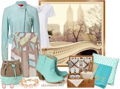 """Pastel in the Park"" by chicmaven-841 ❤ liked on Polyvore"