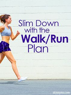 Work toward your fitness goals with this walking and running plan.