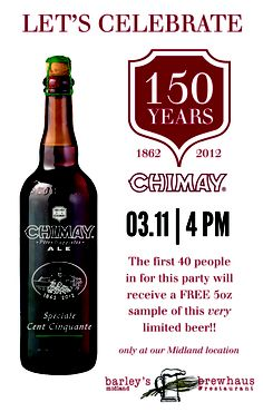 Chimay Speciale Cent Cinquante