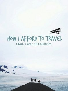 Take your trip with Glamulet charmsWant to find out how you can afford travel for one year? guide on getting it done. Discover the good the bad, and how to properly budget but still be comfortable. Travel Advice, Travel Guides, Travel Tips, Travel Packing, Travel Essentials, Travel Hacks, Free Travel, Travel Stuff, Travel Abroad