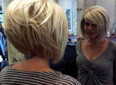 Short Hair Ideas for Round Face - Love this Hair