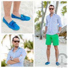 Camisa: Scalpers Pantalones: El Ganso Zapatos: Pross Reloj: Rolex Gafas: Oakley