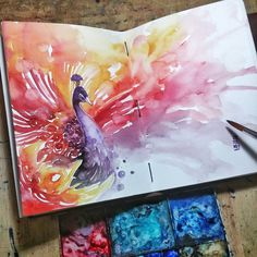 Quick sketch before Tarawih _ Ramadhan Kareem _ #watercolor