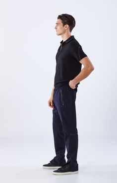 Travel in style and comfort. Lightweight pants for traveling. Flight pants, travel trousers and knit travel tech pants. The best travel pants for men. People Cutout, Cut Out People, Render People, People Png, Architecture People, Entourage, Sitting Poses, Travel Pants, Cut Image