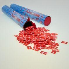 Bomberør og konfettirør til nytår og andre sjover fester. #nytår