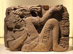 Relieve maya. Clásico tardío.Museo de Toniná