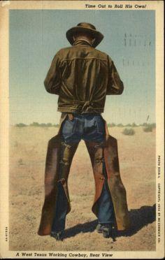 Cowboys having joy