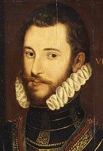"Walter Devereaux, first husband of Lettice Knollys. Father of Robert Devereaux. Walter Devereaux dies in 1576. Sir Robert Dudley, the queen's favourite, and probably lover, starts an affair with Lettice, Walter's widow. Robert Devereaux, their son, goes on to be called one of Elizabeth's favourites. One of a group of very much younger men with which Elizabeth I surrounds herself to flatter and ""admire"" her. Lettice and Robert were married in 1578, two years after the death of Walter."