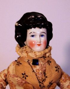 FARAWAY ANTIQUE SHOP - http://www.rubylane.com/item/359459-786/12x94-Antique-China-Doll-Braided