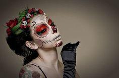 Maquillaje De Catrina Para Día De Muertos, Halloween Sp0 ...