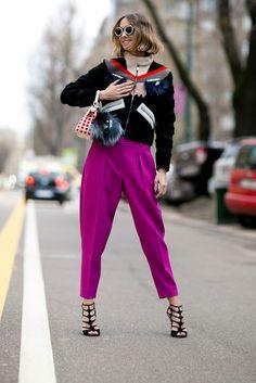 Chic attitude. Semana de la Moda de Milán