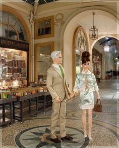Custom Barbie scene, by an avid collector| Barbie Collector site