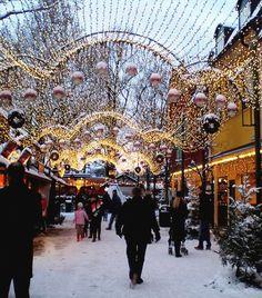 Gröna Lund (Christmas market) in Stockholm, Sweden | by gesternumdiesezeit
