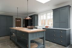 The Hampton Court Kitchen by deVOL, a beautiful mix of our Classic English and Real Shaker Kitchen ranges