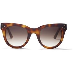 Spektre She Loves You Sunglasses Goop ❤ liked on Polyvore featuring accessories, eyewear, sunglasses, tortoise glasses, tortoise shell sunglasses, tortoise sunglasses, tortoiseshell glasses and tortoiseshell sunglasses