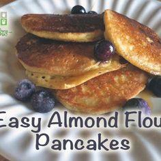 Almond Flour Pancakes phase 3 use almond milk