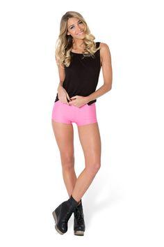 Matte Pink Bummers › Black Milk Clothing