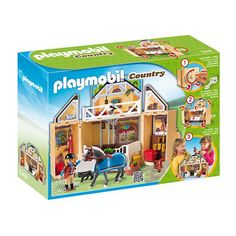 Playmobil Country 5418 - Horse Stable Secret Play Box