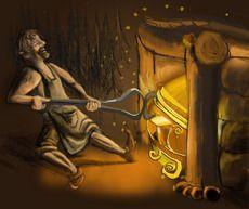 Sammon loi Seppo Ilmarinen Divinity Original, The Conjuring, Deities, Sky, Spirit, Painting, Cards, Mythology, Heaven