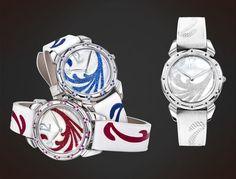 Cuervo y Sobrinos Tropicana. Presented at baselworld Pearl Diamond, Crocodile, Lady, Sapphire, Gems, Pearls, Watches, Crystals, Blue