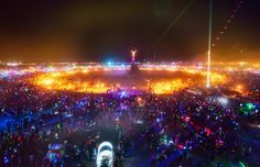 Burning Man Festival...I want to go someday!