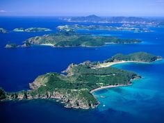 Bay of Islands Aerial View to Cape Brett New Zealand New Zealand Information, Travel Information, Wonderful Places, Beautiful Places, Beautiful Islands, The Tourist, Places To Travel, Places To See, Places Around The World