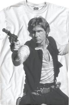 Star Wars Han Shoots First T-Shirt