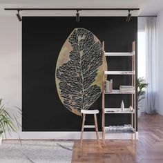 Died leaf 1 Wall Mural by gracefullrebel Hanging Chair, Wall Murals, Leaves, Artwork, Design, Home Decor, Wallpaper Murals, Work Of Art, Decoration Home