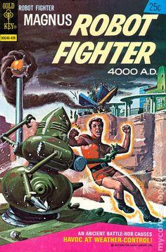 Magnus Robot Fighter (1963 Gold Key) 36