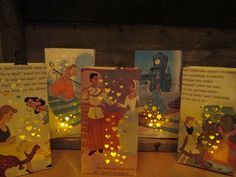 Cinderella Party Pack 20 Cinderella Luminary Bags by Oldendesigns, $85.00