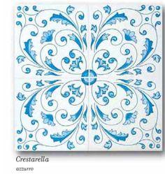 Ceramica Francesco De Maio | Classico Vietri |  crestarella #ceramicafrancescodemaio