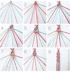 bracelet patterns and directions for arts crafts