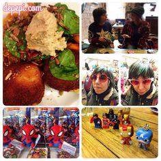 Brighton Geeks & Bloggers: We Met!!!! http://www.depepi.com/2016/03/20/brighton-geeks-bloggers-geek-girls-versus-brunch-blast/  #brighton #geek #geekgirls #bloggers #uk #marvel #dc