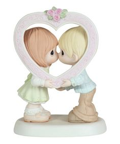 Loving this I've Opened My Heart Just For You Figurine on #zulily! #zulilyfinds