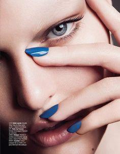 Sina by Christoph Klutsch for Harpers Bazaar Serbia - Beauty Scene