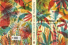 "covermore: "" Alternative cover for Rudyard Kipling's The Jungle Book by Tatiana Boyko. """