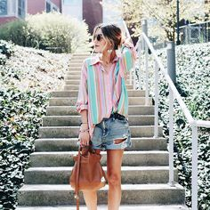 12 Gorgeous Ways to Make Vertical Stripes Feel Cool For the Summer